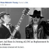Uppgift: Axl Rose in i AC/DC