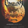 Obscura, Revocation, Beyond Creation och Rivers Of Nihil till Sverige