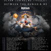The Devin Townsend Project, Between The Buried And Me och Leprous till Sverige